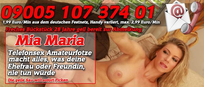 12 Telefonsex mit Mia Maria - Die Königin lässt die Ficker tanzen