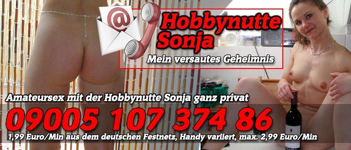 38 Sonja die geile Telefonsex Hobbynutte für Amateursex der Weltklasse