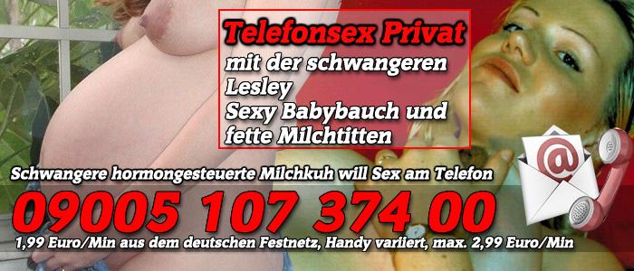 36 Telefonsex Privat mit der schwangeren Milchkuh Lesley