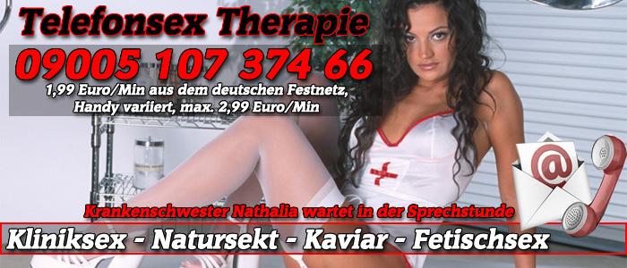 3 Telefonsex Therapie mit Krankenschwester Nathalia
